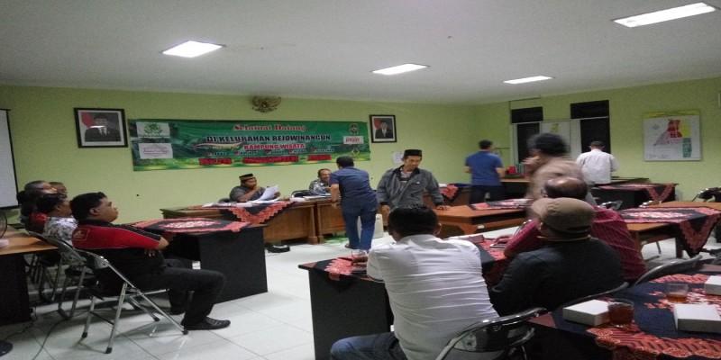Kelurahan Rejowinangun - Pemilihan Pengurus Kampung Pilahan masa bakti 2018-2023