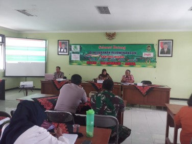 Kegiatan Forum TKPK Kelurahan Rejowinangun tahap 2 Tahun 2019