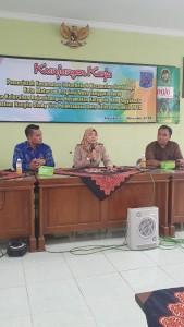 Kunjungan Kerja dari Kecamatan Sekarbela dan Kecamatan Sandubaya Kota Mataram Prop.Nusa Tenggara Barat