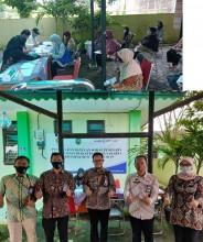Penyerahan Bantuan Sosial Tunai (BST) dari Pemerintah Propinsi DIY di Kelurahan Rejowinangun