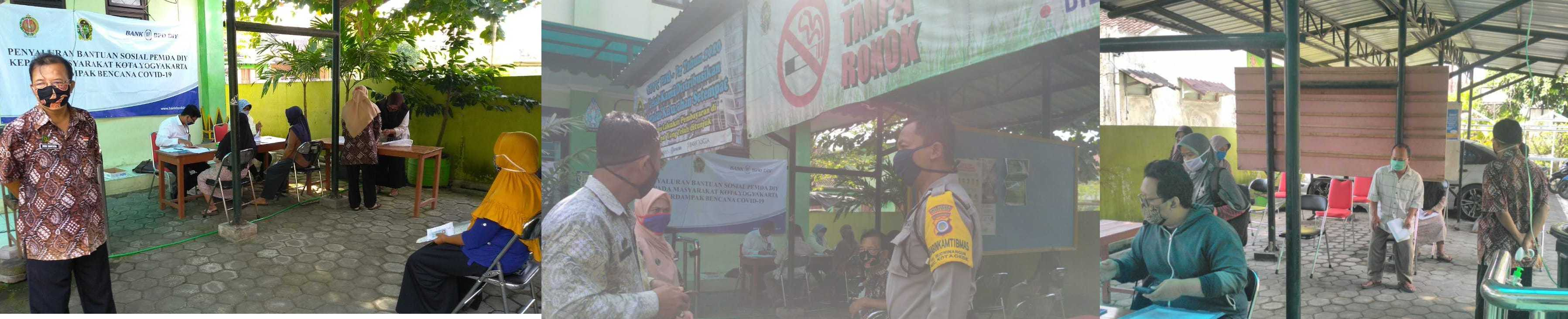 Penyaluran Dana Bantuan  Tahap 2 di Kelurahan Rejowinangun