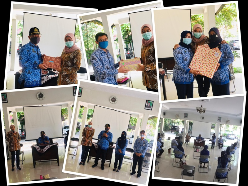 Pelepasan Ibu Wulan Purwandari, S.STP dan Ibu Dra. Haryatun ke Tempat Tugas Baru dari Kecamatan Kotagede