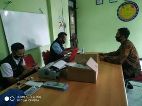 Pelayanan Pajak Kendaraan Tahunan Kendaraan Program Go Door bulan Oktober di Kelurahan Rejowinangun