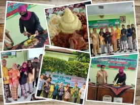 Upacara Virtual HUT Kota Yogyakarta ke 264 di Kelurahan Rejowinangun