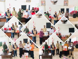 KTB Pilahan dan KTB Rejowinangun dan 3 Kampung se Kelurahan Rejowinangun mendapatkan Bantuan APD dari Pemkot Yogyakarta
