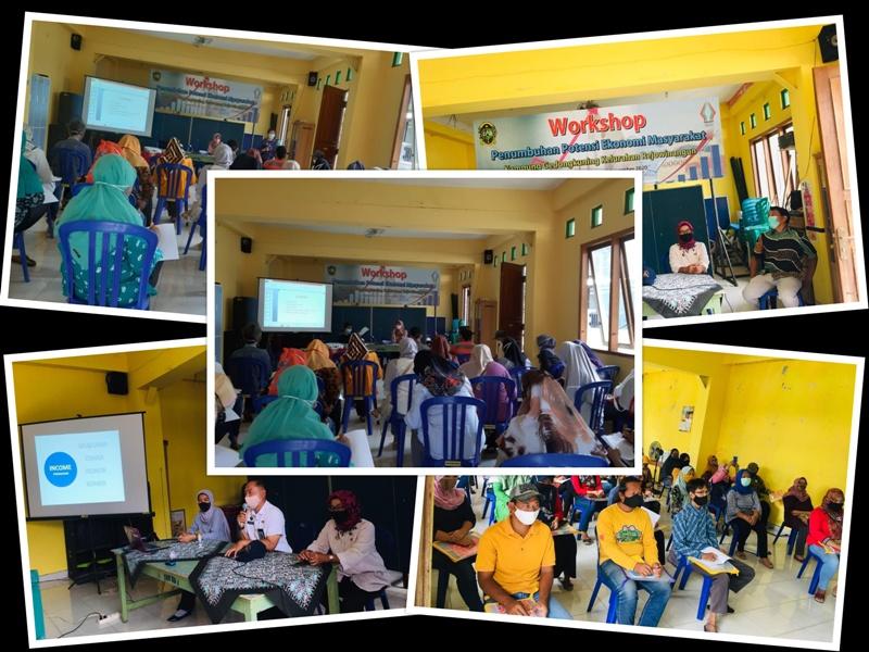 Worskhop Penumbuhan Potensi Ekonomi Masyarakat di Kampung Gedongkuning Kelurahan Rejowinangun