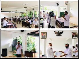 Pelepasan Masa Purna Tugas Bpk Budi Santosa, A.Md di Pendopo Kecamatan Kotagede