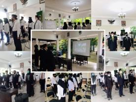 Pelantikan Pejabat Struktural Kecamatan dan Kelurahan secara Virtual di Kecamatan Kotagede