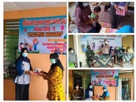 Gerakan Relawan Sehat Dapur Balita dalam Roadshow NGLUWIHI MBAGEHI Kemantren Kotagede