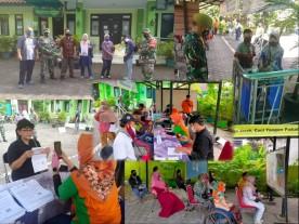 Penyaluran Bantuan Sosial (BANSOS) dari Kemensos di wilayah Kelurahan Rejowinangun