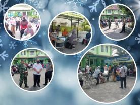 Pendistribusian Bantuan Beras dari Kemensos di wilayah Kelurahan Rejowinangun