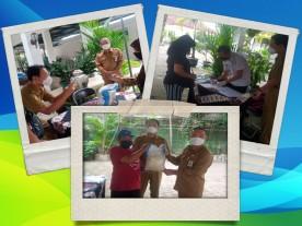50 Warga Kelurahan Rejowinangun  mendapat Bantuan Beras 10 kg.