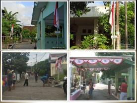 Peringatan Kemerdekaan HUT RI ke 76 pada masa pandemi di wilayah Kelurahan Rejowinangun