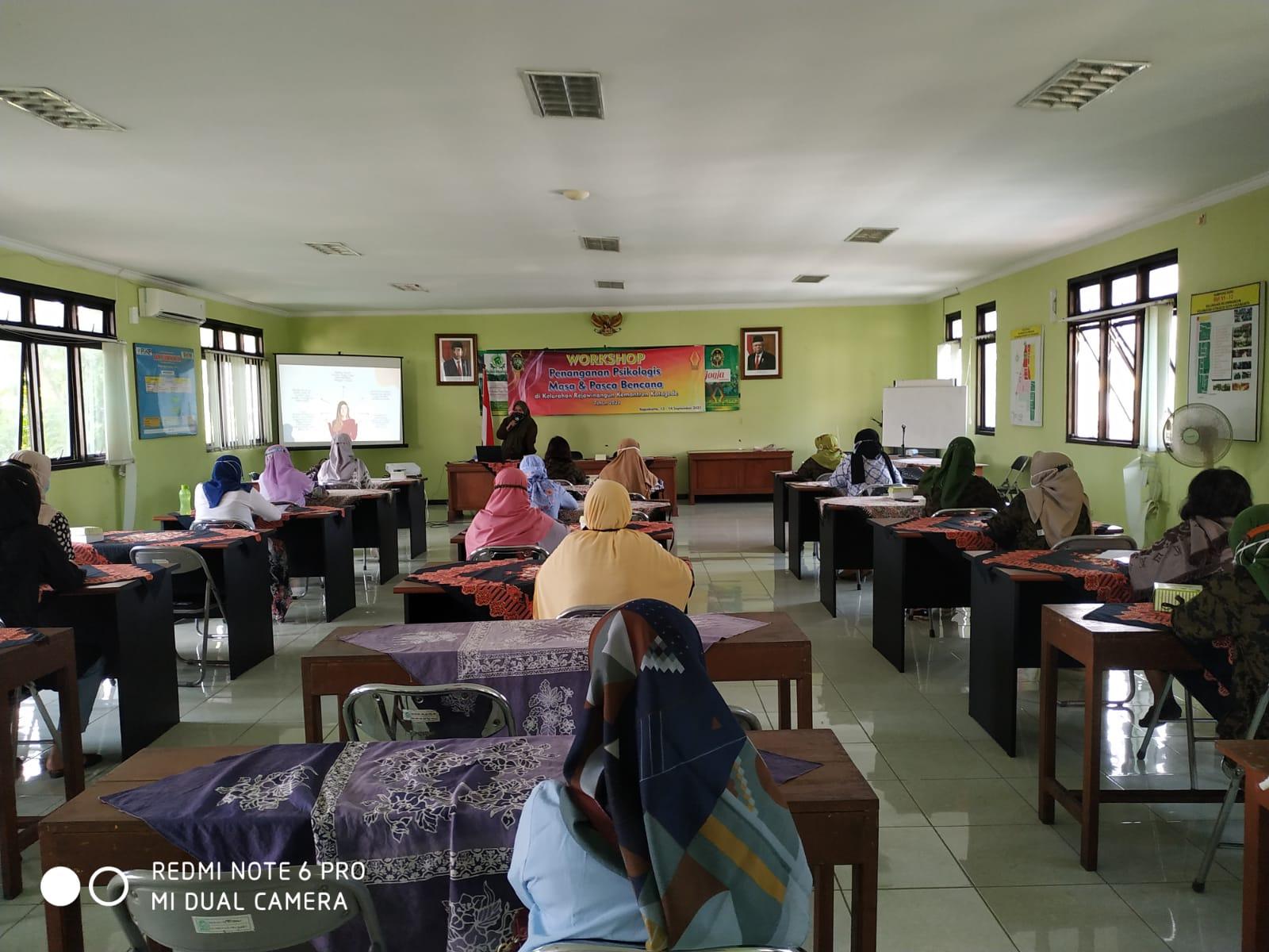 Workshop Penanganan Psikologis Masa dan Pasca Bencana Tahun 2021  Tahap 2